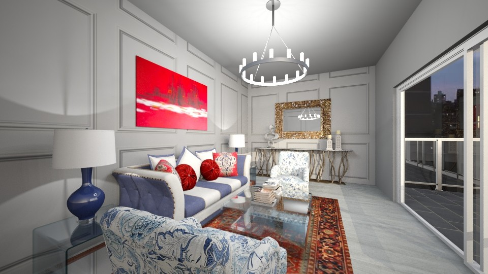Formal Den - Classic - Living room - by nicquo40