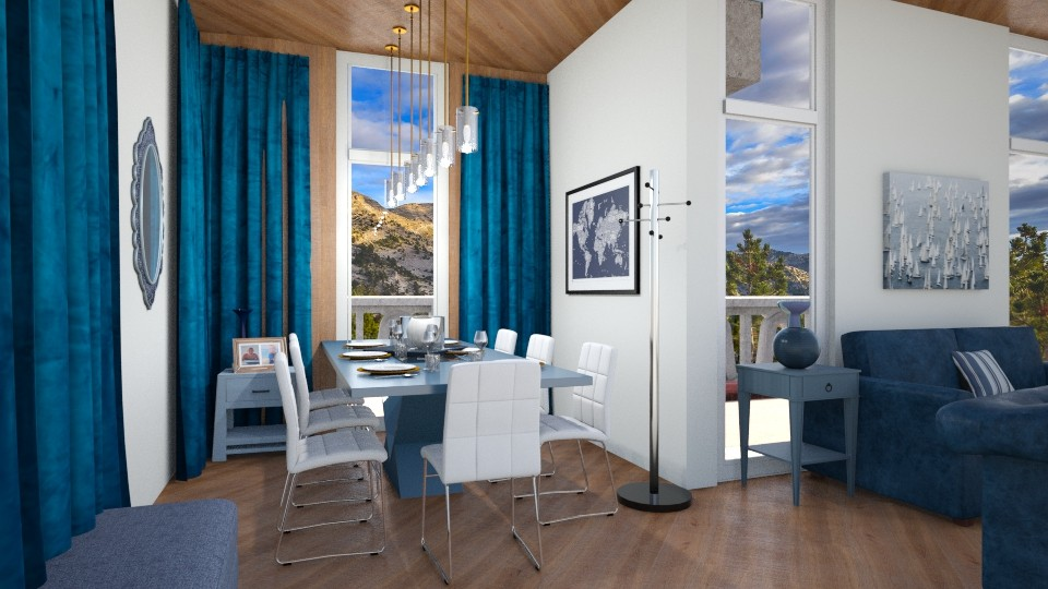 Dining in the Mountain - Modern - Dining room - by ilikalle