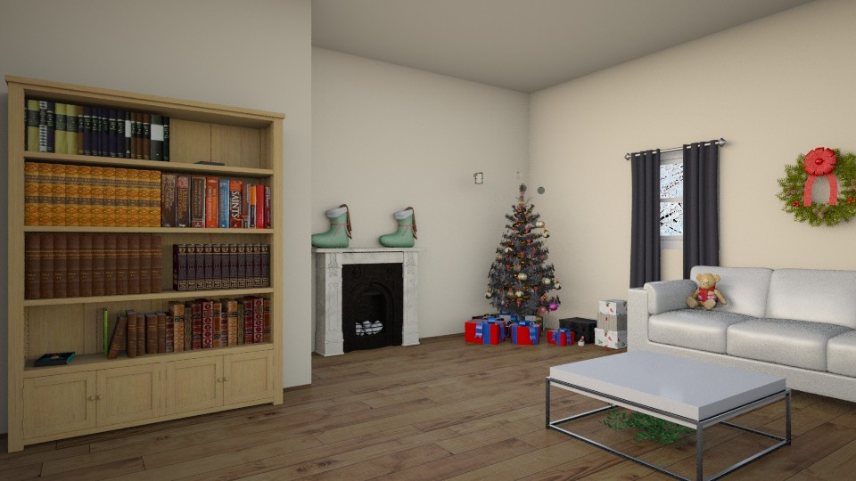 Christmas Living Room - Living room  - by KS81boff