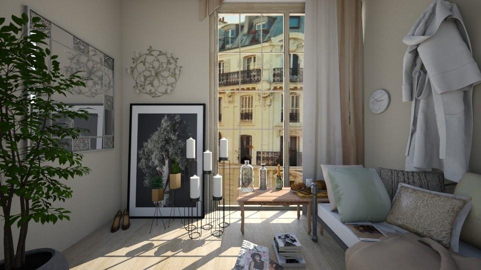 Peaceful Friday - Bedroom - by elle rose