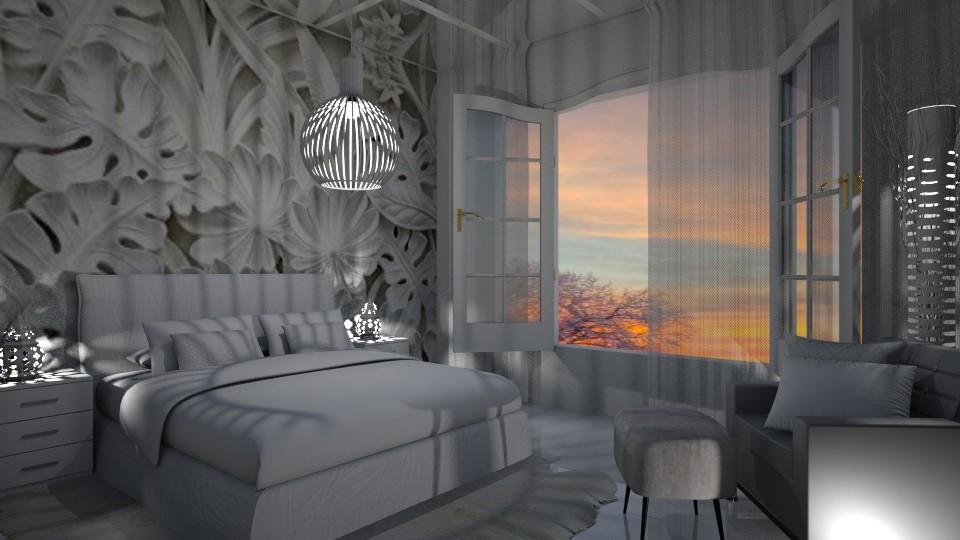 Romantic Bedroom - by Maryjo1965