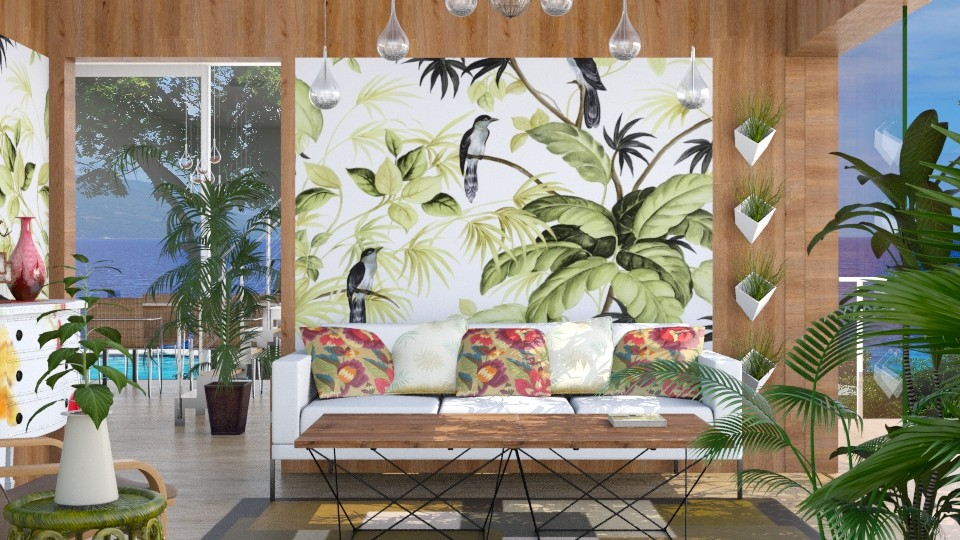 Tropical_LR - Living room - by JayPH