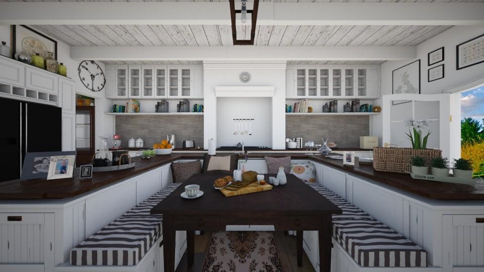 Country Chic Kitchen - Kitchen  - by Jodie Scalf