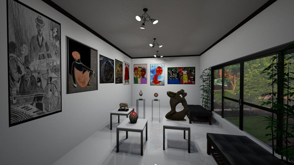 Home Art Gallery Room - by Tzed Design