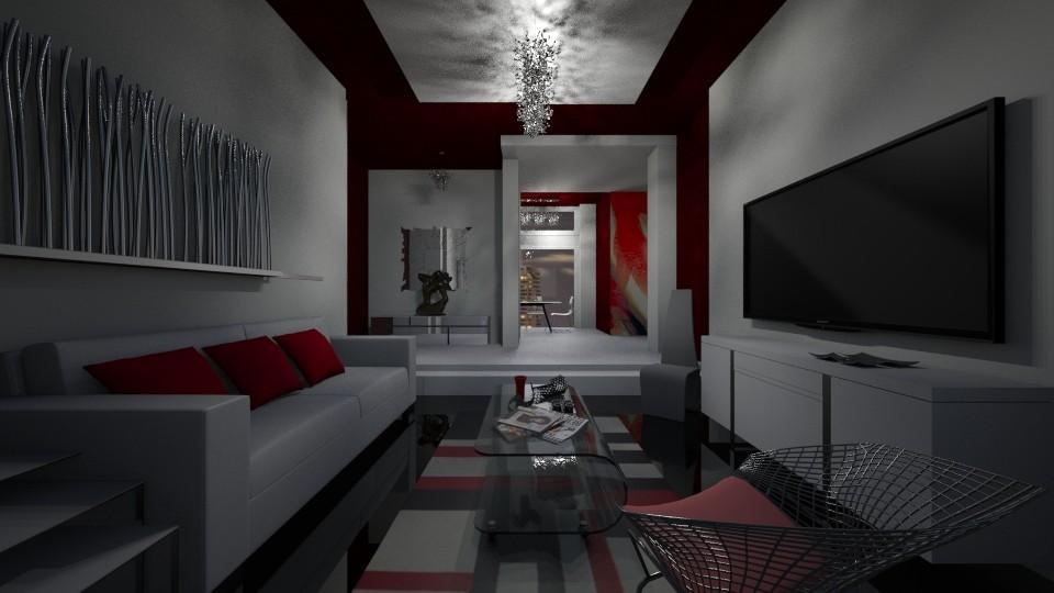 NewModernSpace4L - Living room - by Nard8A