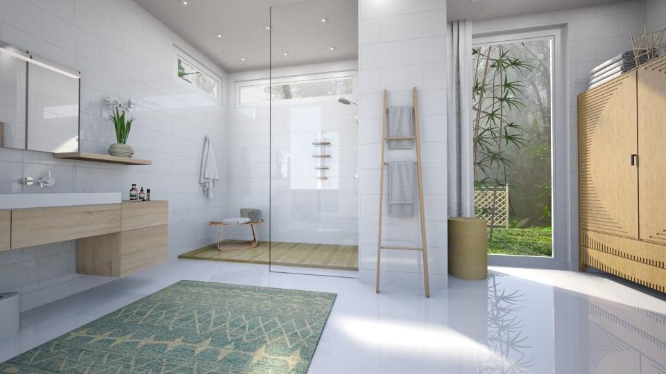 Bamboo Bathroom - Minimal - Bathroom  - by ScillaSiberica