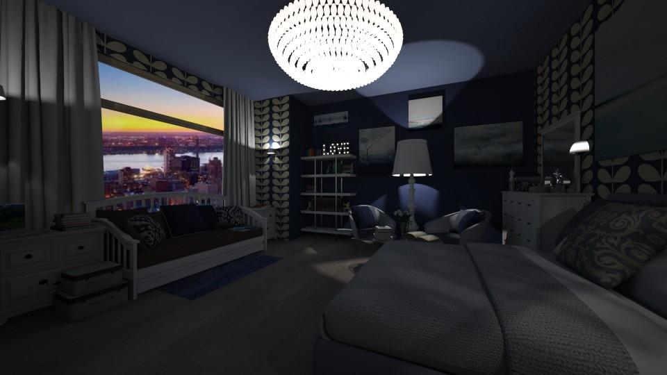 fkjbvk - Bedroom - by Mia Lis