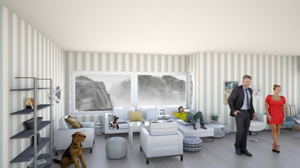 white - Living room - by gtenenbaum