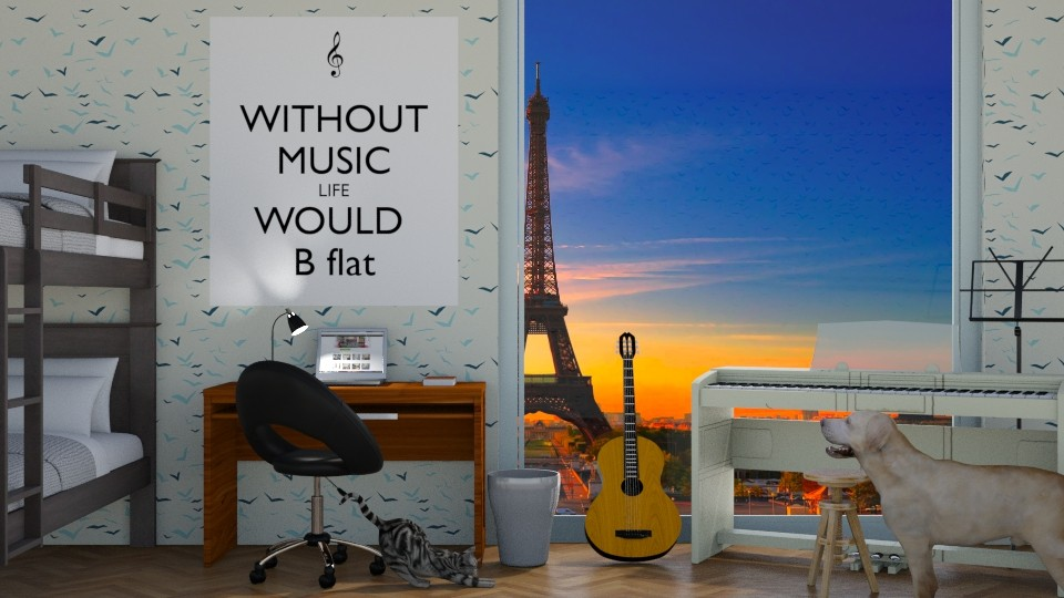 Music Bedroom - by shahr