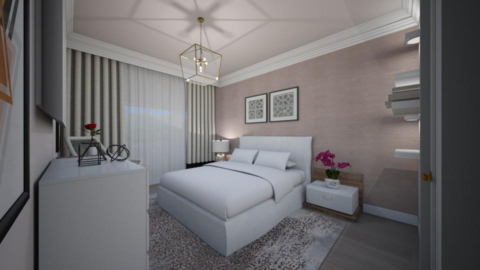 dormitor insta - Bedroom - by Bianca Interior Design