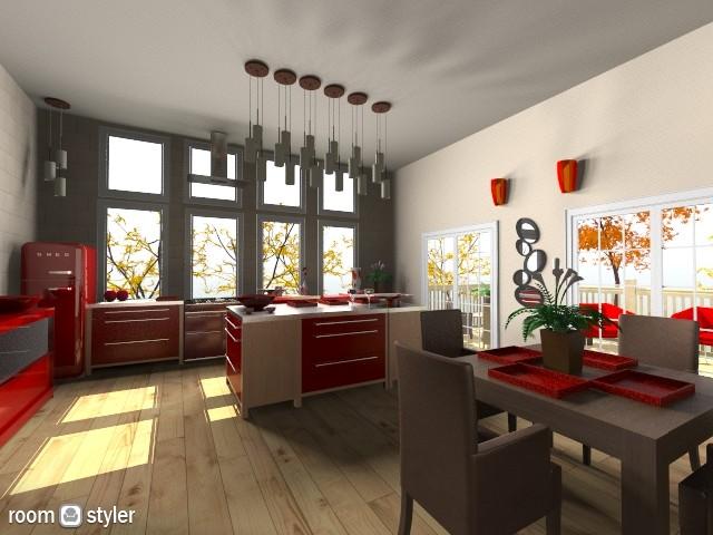 Aces Kitchen - Kitchen - by Calolynn