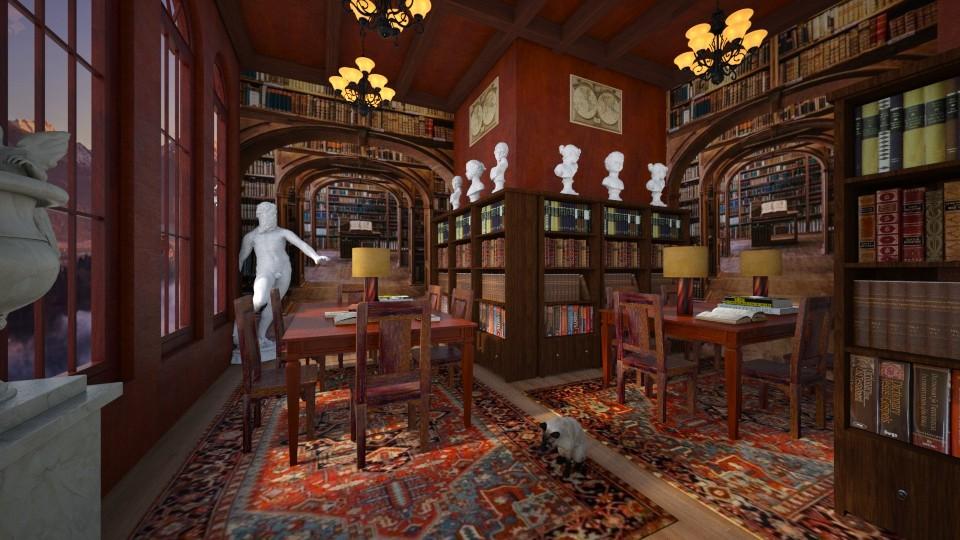 Library - by Yavanna