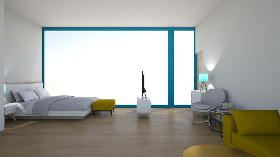Maries Haus Schlafzimmer2 - Modern - Bedroom - by Marie Harrer
