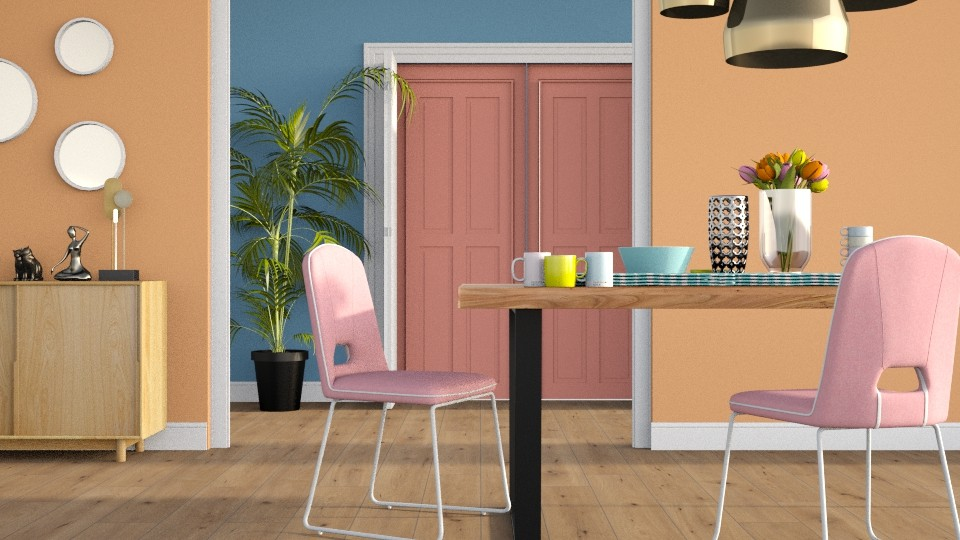 ARTISAN FLOORING 4 - Dining room - by LucasMucus
