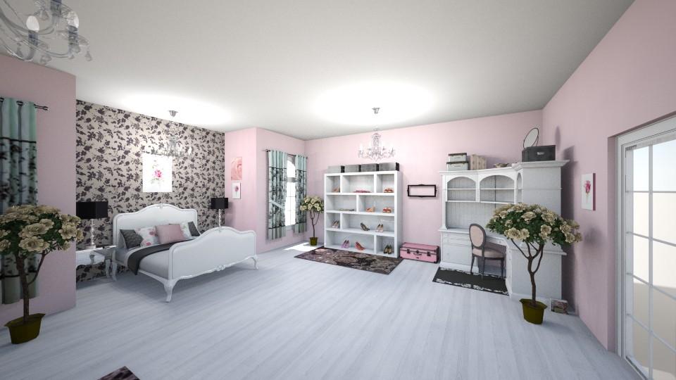 BriarBeautyBedroom - Feminine - Bedroom - by MarlanaWellman