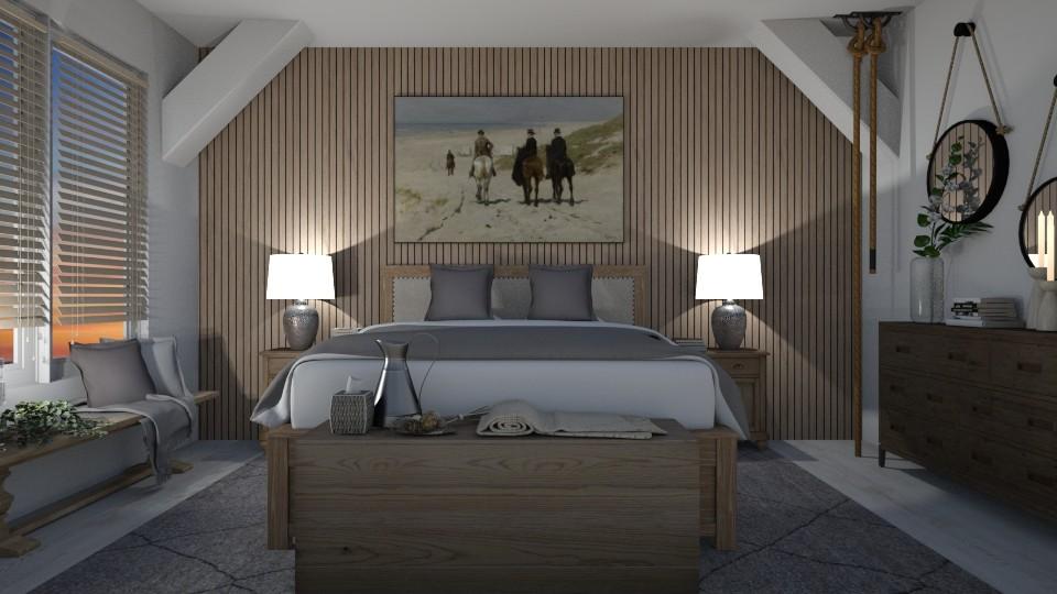 Farmhouse Bedroom - by Danielle_ML