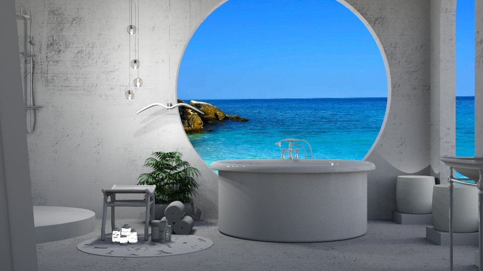 Stella Peony Bathroom - by JayPH