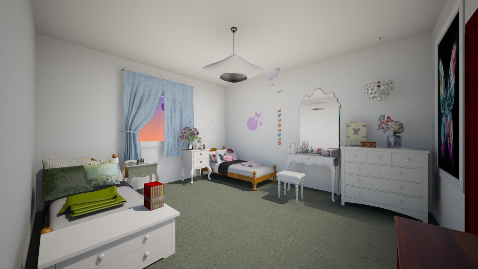 Shared Bedroom - Bedroom - by Jessica Lyn