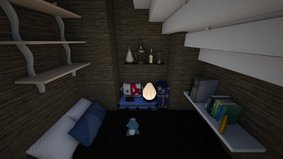 cupboard under the stairs - by scourgethekid