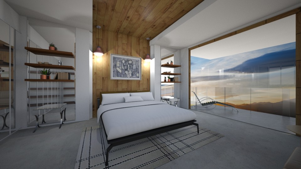 A2 - Modern - Bedroom - by GraceED
