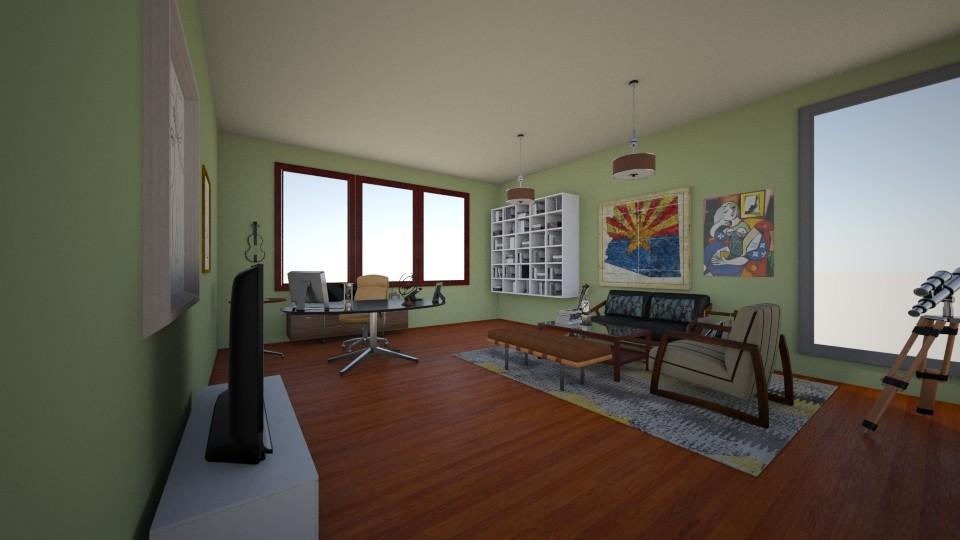 Stockbroker's office - Modern - Office - by Charlotte Aliceee