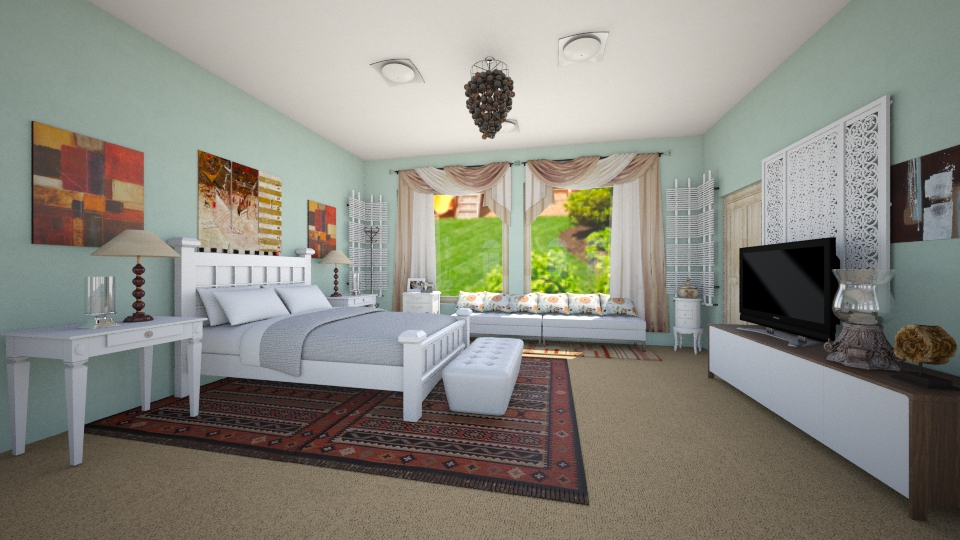 moms bed1 - Bedroom - by apostolia79