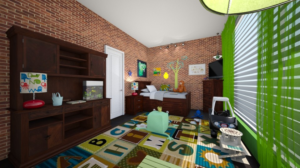 MATTHEW - Kids room - by hillygabe