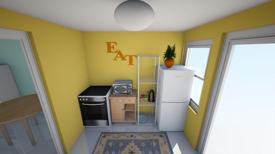kitchen - by ismellhippies