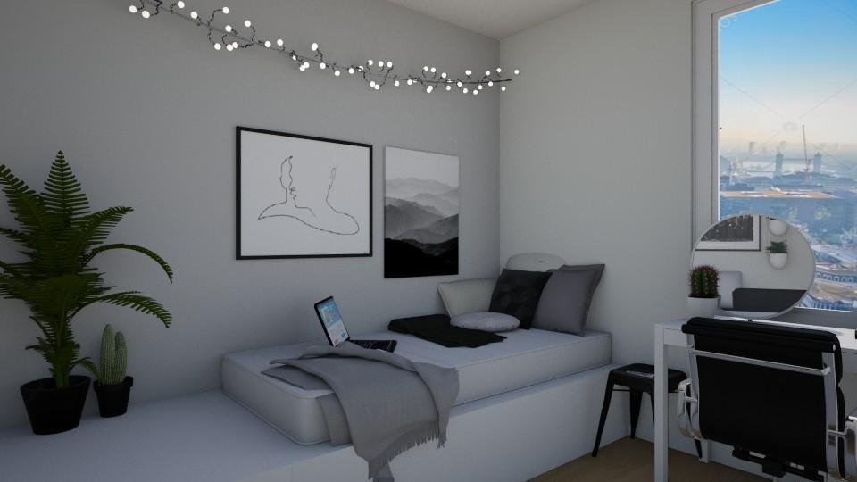 Nelsonik1 - Modern - Bedroom  - by gwiazdanela