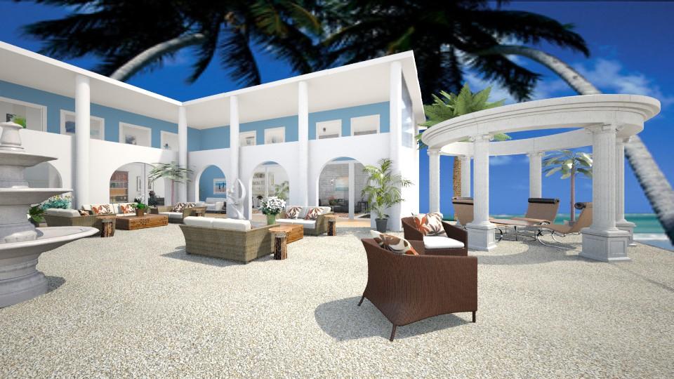 Villa Lounge - by Themis Aline Calcavecchia