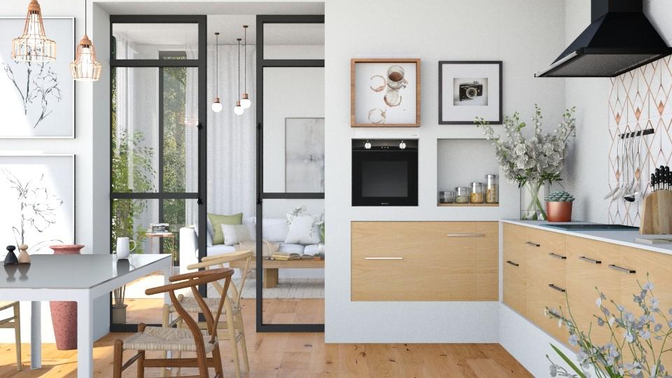 Wood Kitchen - Kitchen - by ArtHousedeco