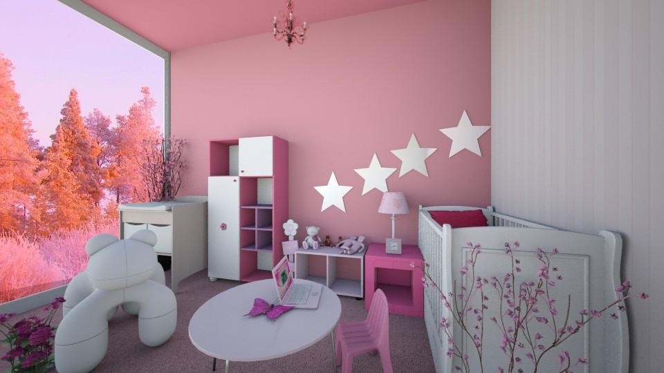 sister room - Kids room - by blaze001