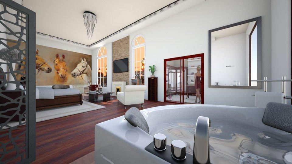 Fresh and Modern - Bedroom - by Sophia Urcuyo