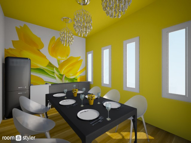 Hello Yellow - Modern - Dining room - by Anliz