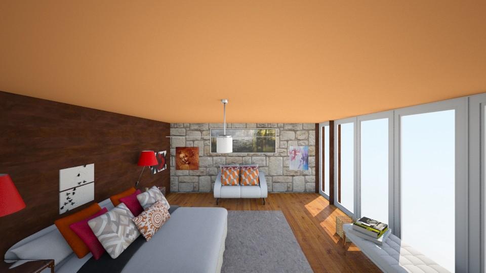 Master Bedroom  - Modern - Bedroom - by Taisha Casimir