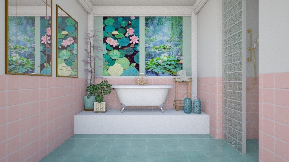 Lily Pond  - Bathroom  - by sara1010