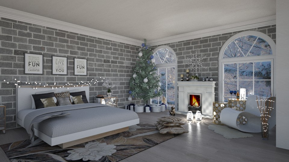 Christmas room - by Sarah_choo