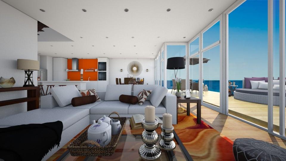 Het_FamilyBach - Living room - by RedVelvet21