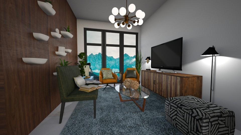 Mt Home Living - Modern - Living room - by Kit Bramble