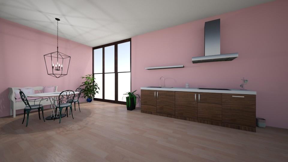 Pink Kitchen - by bearherb02