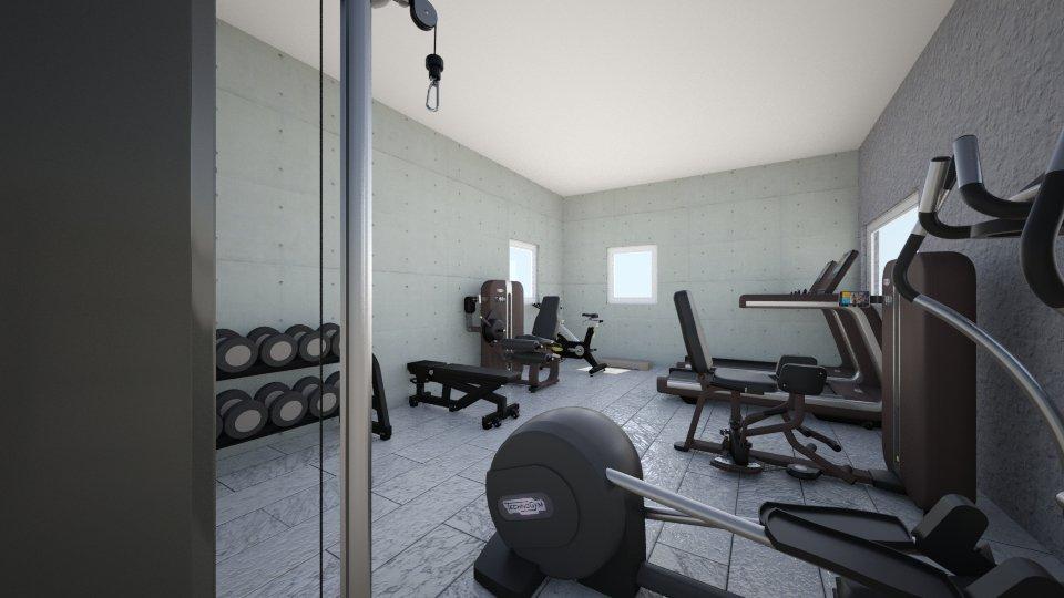 gym 2 - by Domenica Molina