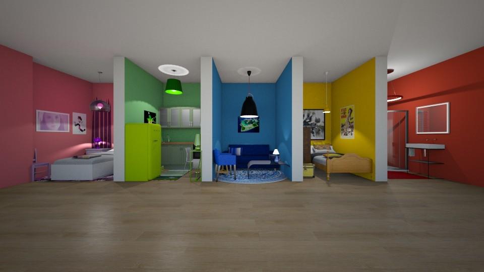 Colour Home - by ilikalle