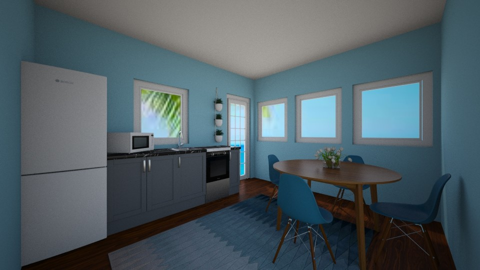 Blue Ocean - Kitchen  - by house17