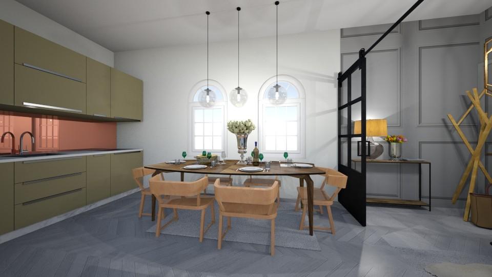 monochrom living room min - Living room - by boni89