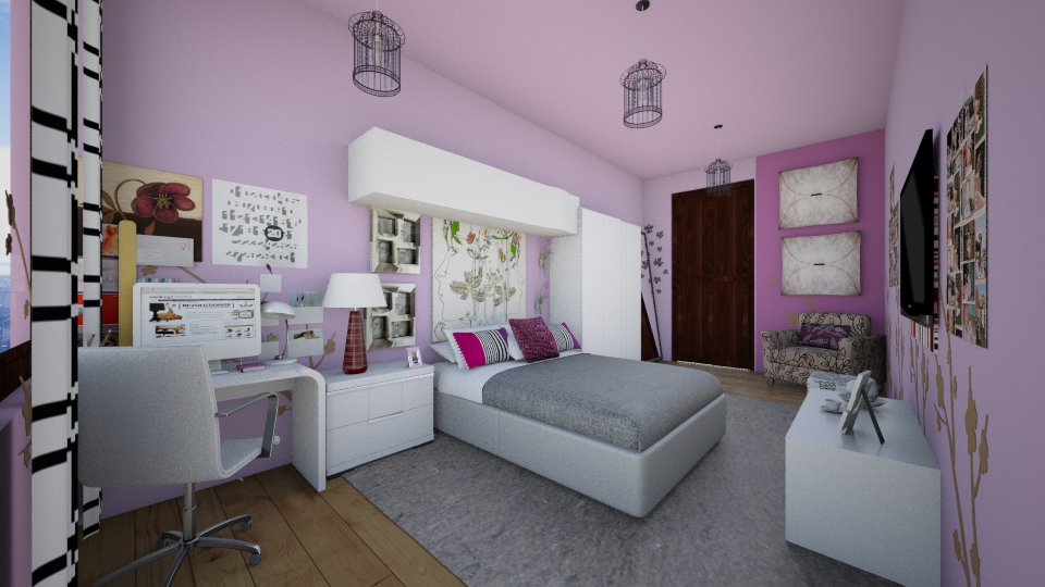 MY SWEET ROOM - Modern - Bedroom - by lamzoi