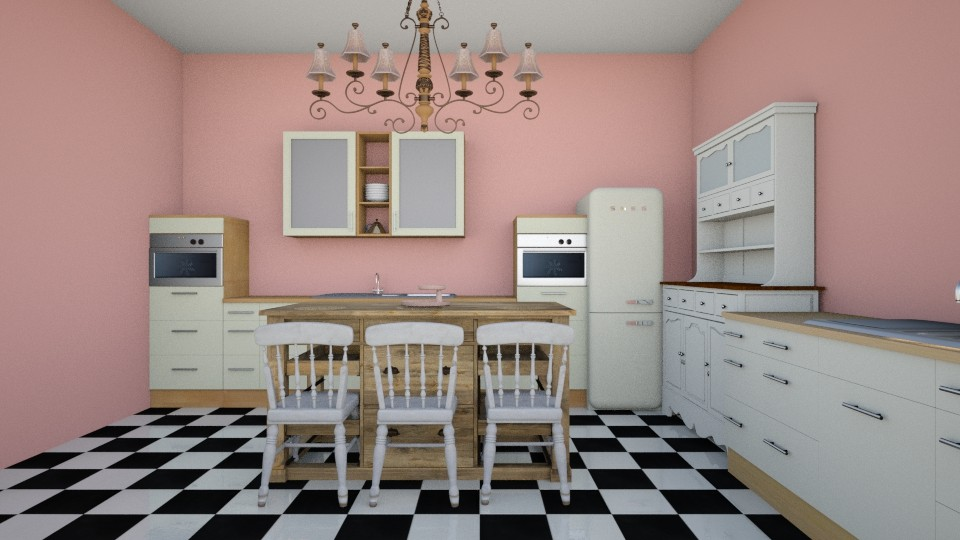 Shabby Chique kitchen - Kitchen - by McKenna Mitchell