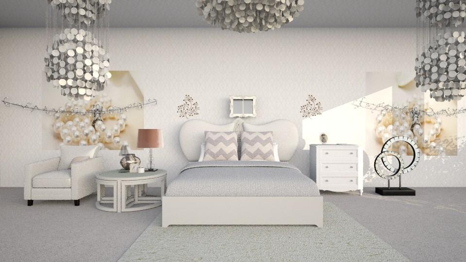 Pearl - Modern - Bedroom - by InteriorDesigner111