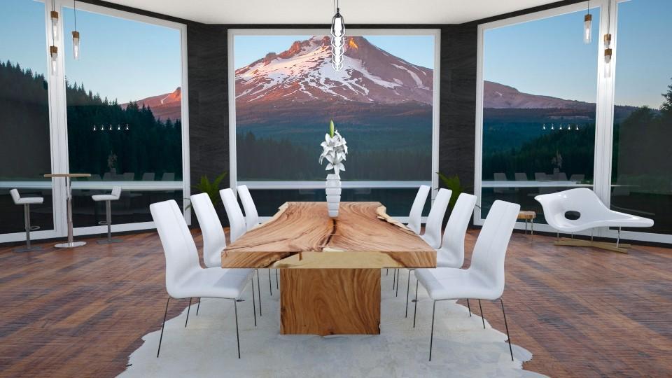 mountain - Minimal - Dining room  - by annator