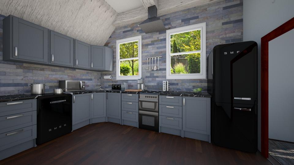 Masculine Kitchen - Kitchen  - by mmccarth17