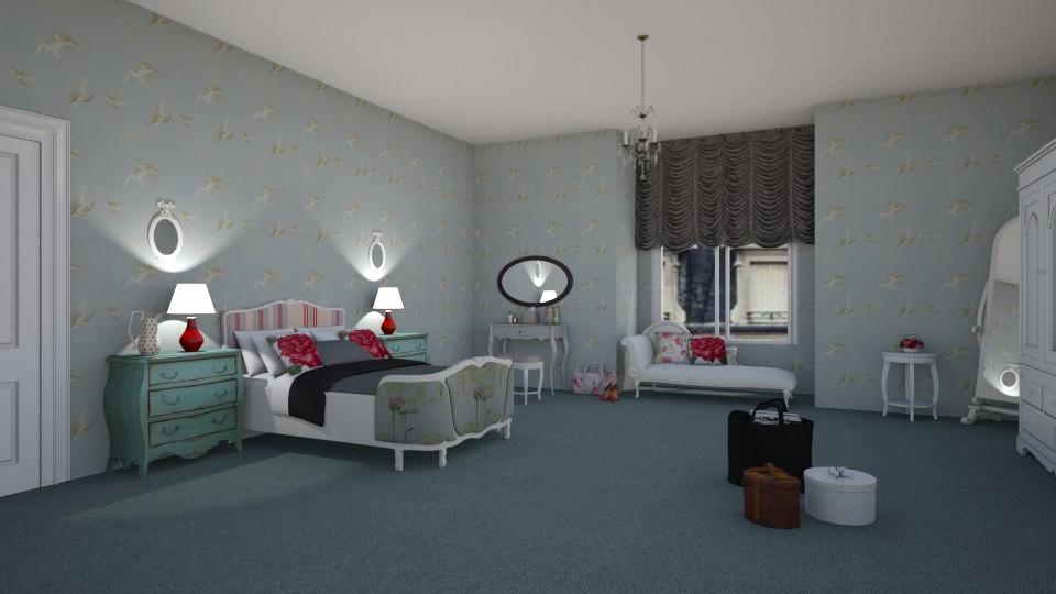 Room 21 - Living room - by Tiffany Y
